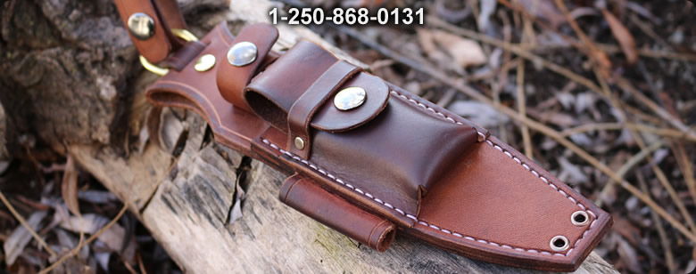 Bushcraft Custom leather F1 Kit - Bushcraft Canada