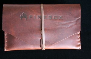 Firebox Stove Top Grain Leather case for 5in Firebox
