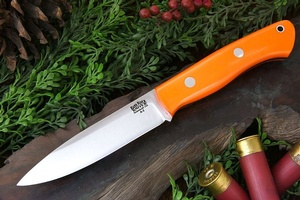 Barkriver Knives Aurora Blaze Orange G10