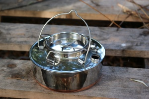 Norwegian Lone Woodsman Kettle Stainless Steel .7L