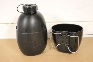 BCB water bottle and cup
