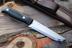 Enzo Trapper 115 N690 Scandi Black G10