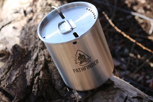 Pathfinder Stainless Steel Cup and Lid Set