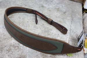 Harkila Luxury Leather and Canvas Rifle Sling