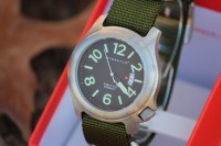 Bushcraft watch Green NATO strap
