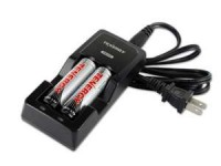 Tenergy TN270 Fast charger with x2 18650 batteries