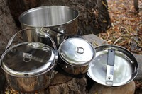 Basecamp Stainless steel Bail arm Cookset