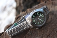 Bushcraft Watch Stainless Steel strap