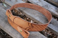 Canadian Made leather Rifle Sling