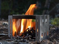 180 Tack Flame Compact Stove Photo