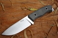 TRC Knives TR 13 Elmax Black Canvas