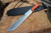 Cudeman Compact Machete Orange G10