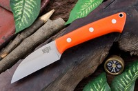 Barkriver Knives A2 TUSK Orange G10