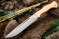 Barkriver Grizzly 3V Antique Ivory Micarta
