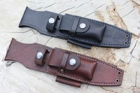 Bushcraft Leather Custom A1 PRO Sheath Photo