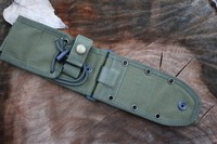 ESEE 5/6 Molle back and Pouch Black or OD