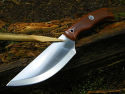 Point of the Highland Bushcraft Knife