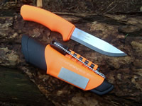 Mora Bushcraft <br />(Orange Survival Heavy Duty)